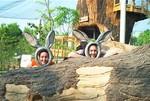 Everyone called us bunnies, so we figured we'd admit it.