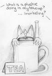 snorkeling in tea