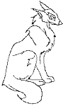 Kila's Wolf Pose Outline